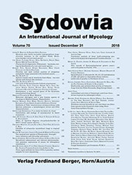 Sydowia Vol. 70 E-Book/S 1-10 OPEN ACCESS