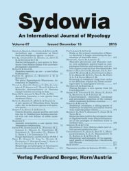 Sydowia Vol. 67 E-Book/S 119-126 OPEN ACCESS